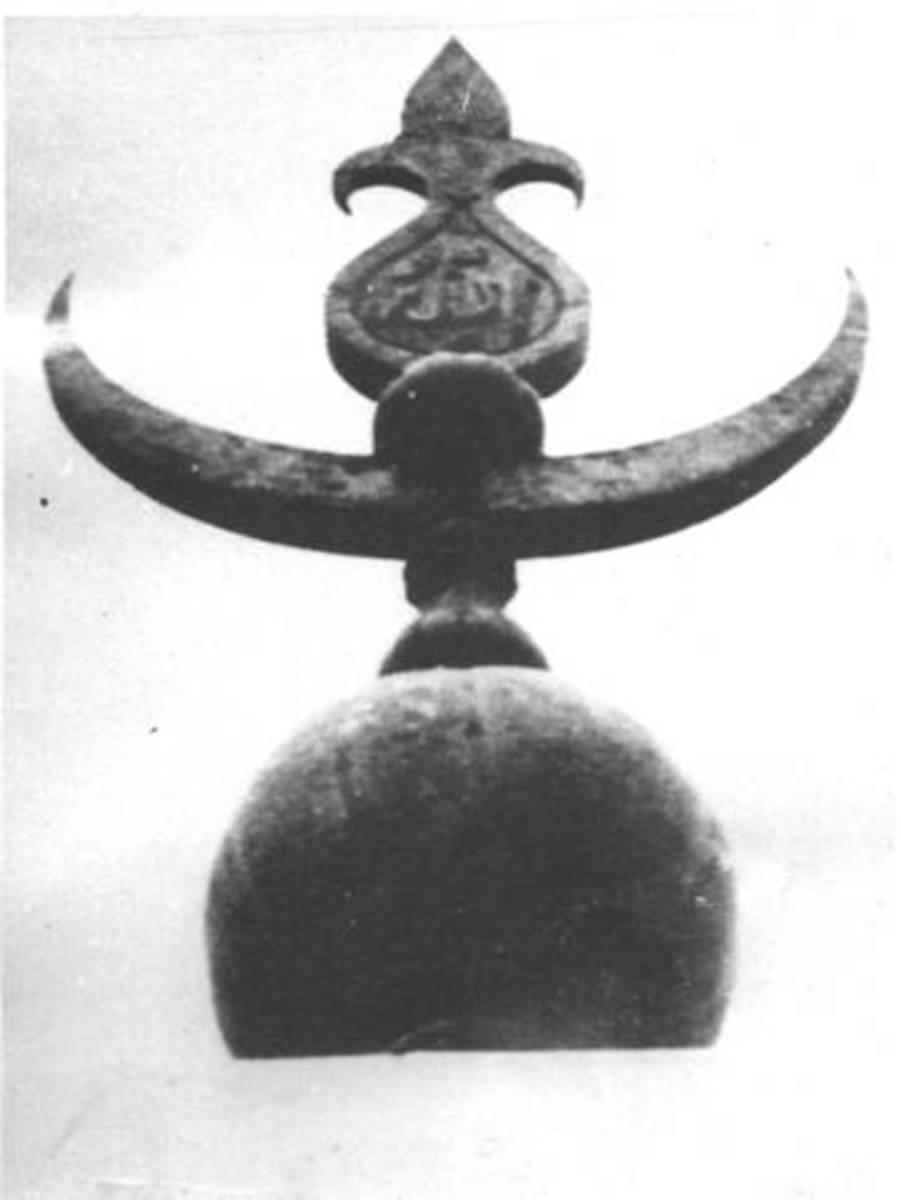 Close up of the pinnacle