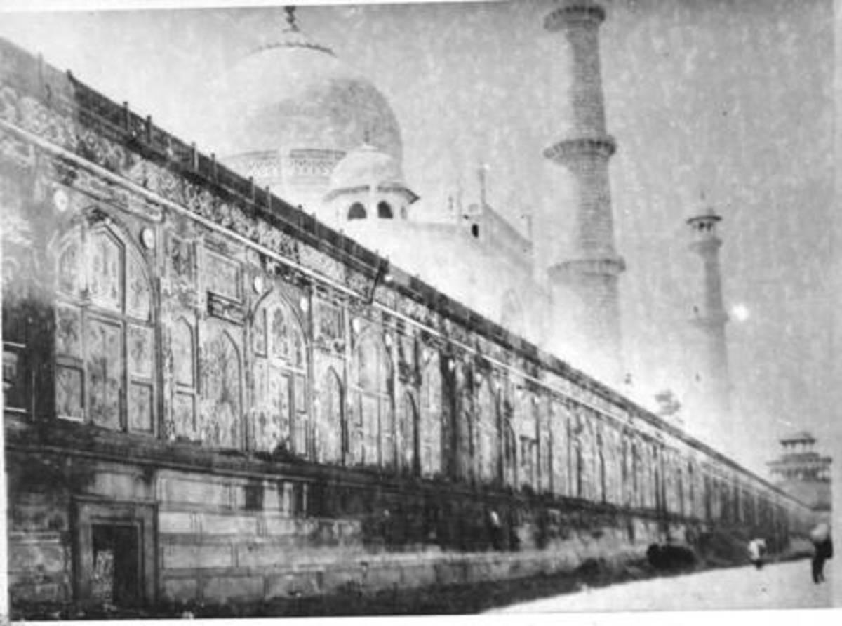 Rear view of the Taj & 22 apartments