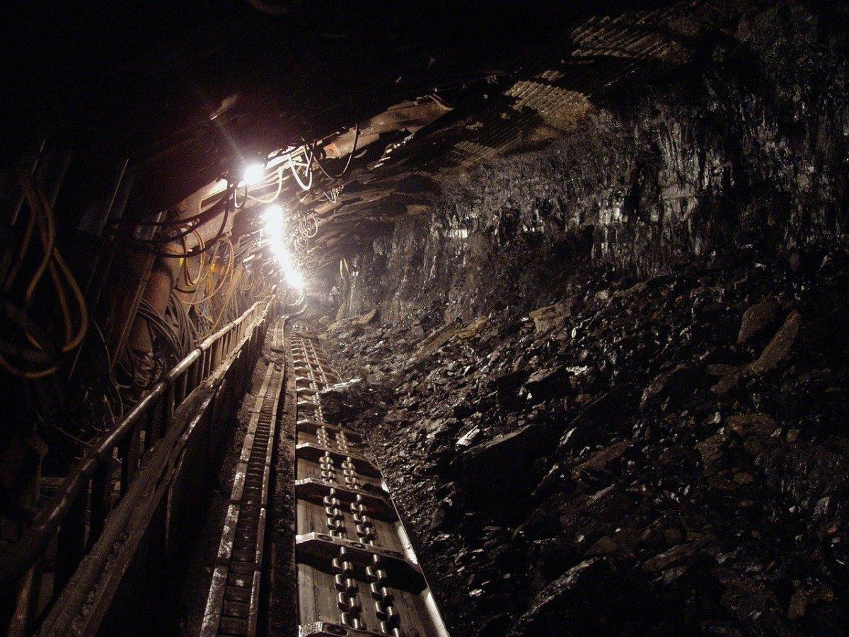 Inside a modern coal mine