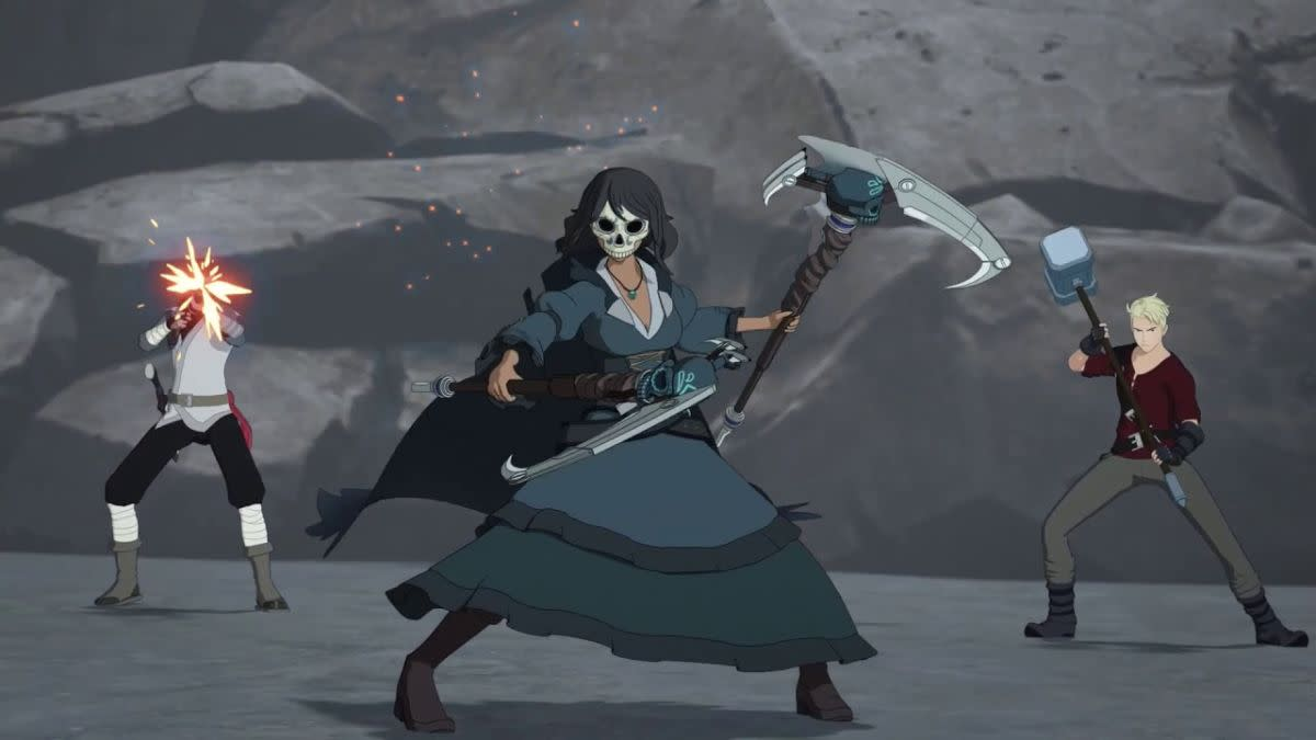 Maria as the Grimm Reaper