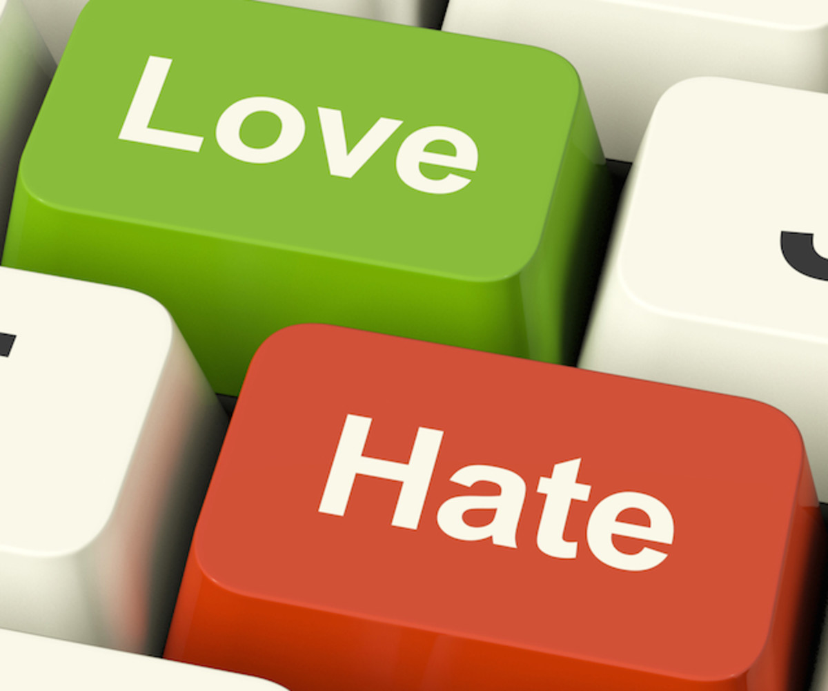 It doesn't even take a second  for someone  to hate whom they loved the most.