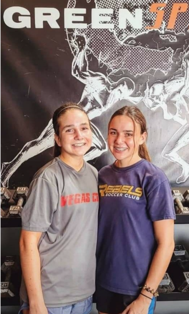 Mom Kristey Wimbish says that Selena and Vanessa have been involved with activities including gymnastics, softball and soccer, starting at 4 years old. They both plan to play soccer in college. Photo courtesy Kristey Wimbish.