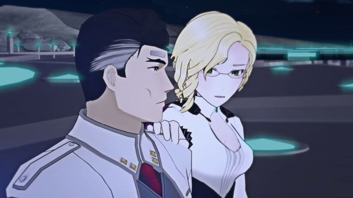 James Ironwood and Glynda Goodwitch