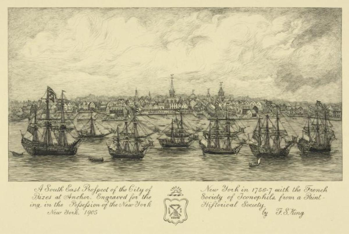 NEW YORK CITY 1756