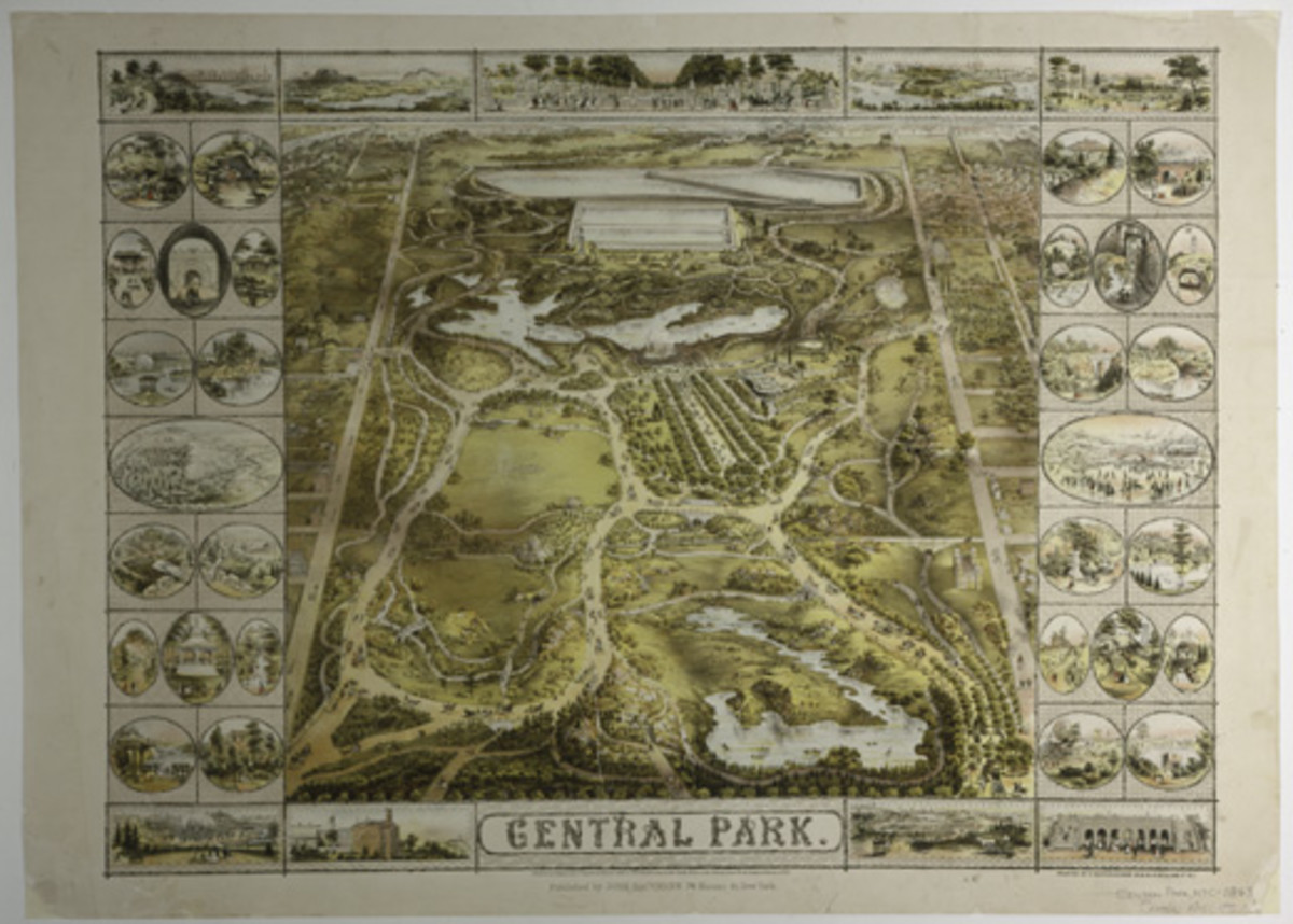 PLAN OF CENTRAL PARK