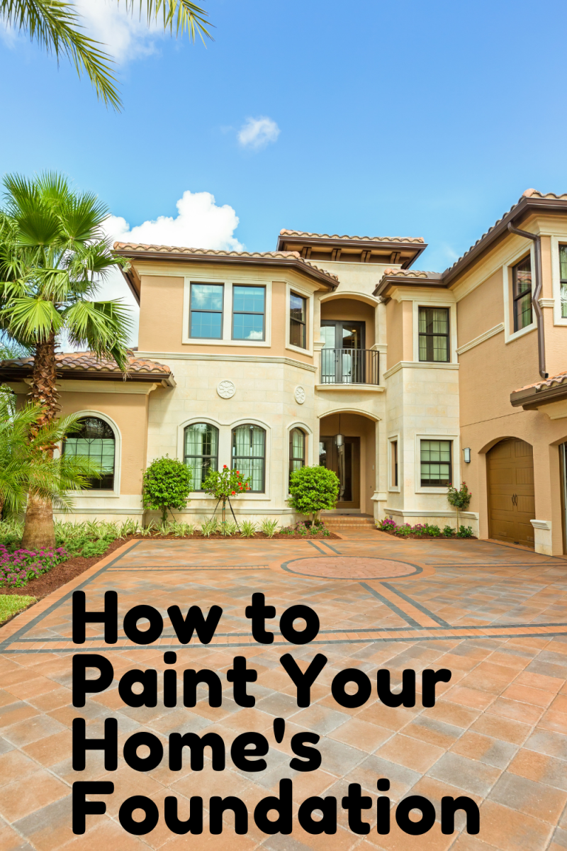 How to Increase Curb Appeal - Paint Your Foundation