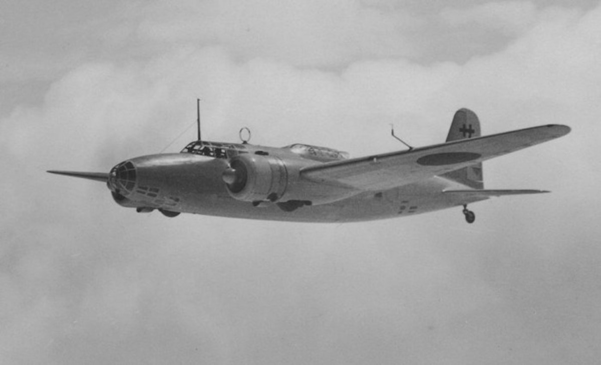 Mitsubishi Ki21, heavy bomber that ferried Bose
