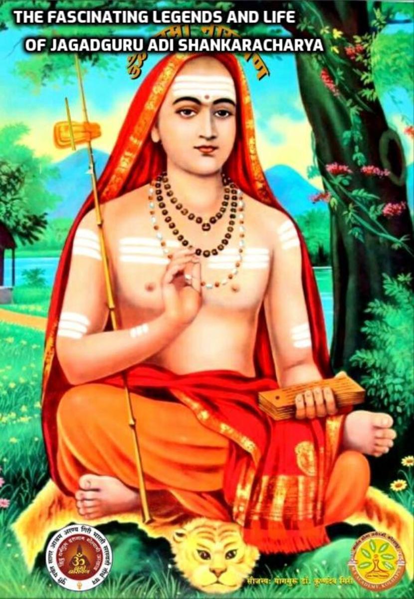 The Fascinating Legends and Life of Jagadguru Adi Shankaracharya