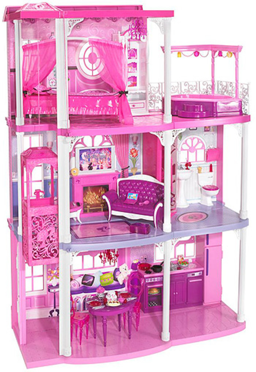 Barbie 3-Story Dollhouse