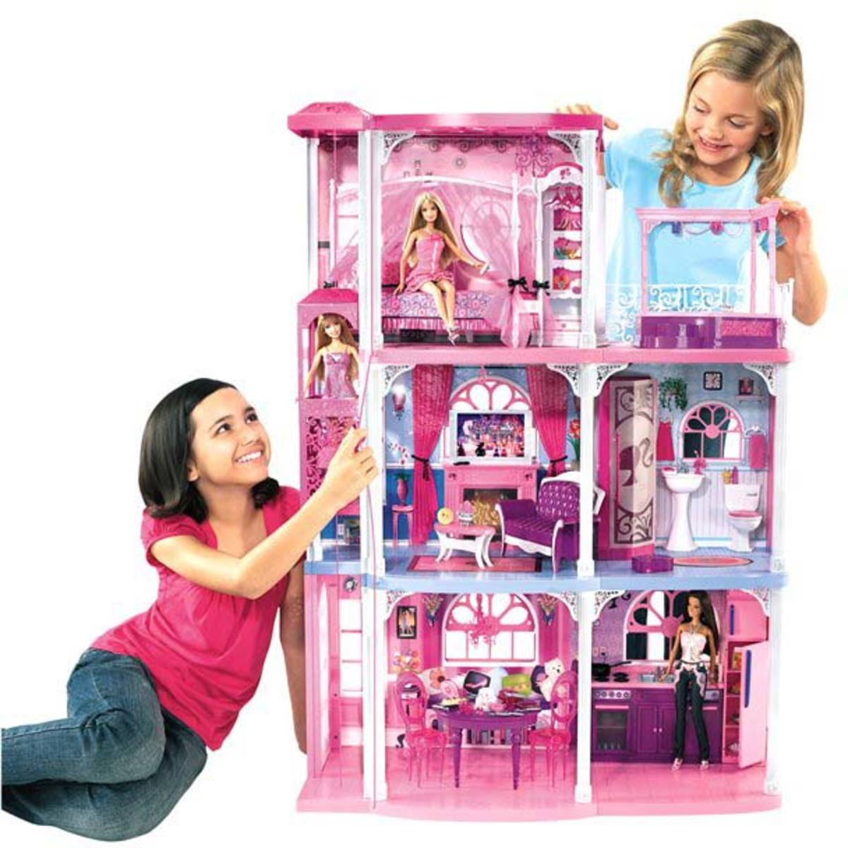 Barbie Pink 3-Story Dream Townhouse by Mattel