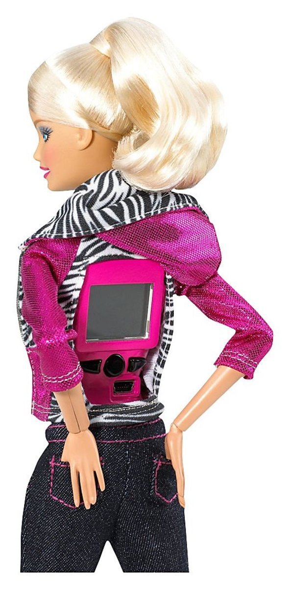 Barbie Video Girl Blonde Fashion Doll