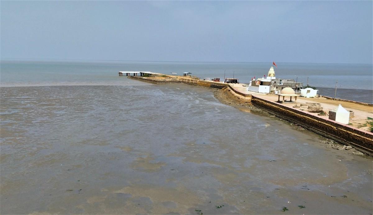 The Arabian Sea at Koteshwar