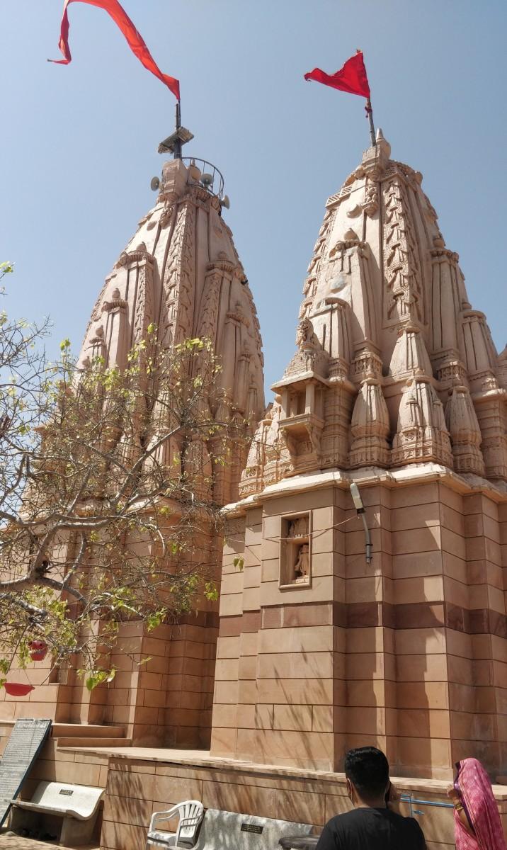 Koteshwar temple : rear view