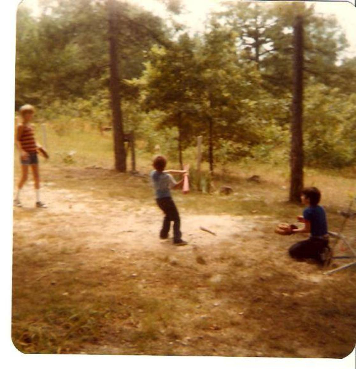Childhood Memories in Rambling Prose/Poetry--Playing Baseball With My Brothers