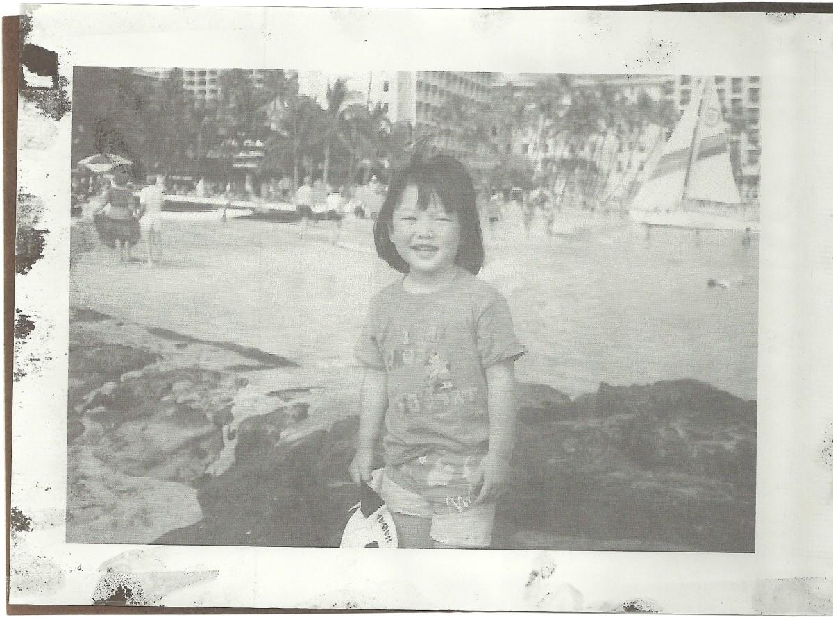 Karen Lee in Hawaii