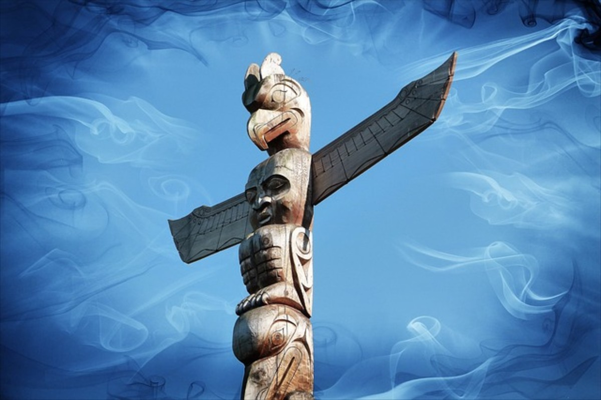 A Totem Pole Is a Person in Native North American Culture