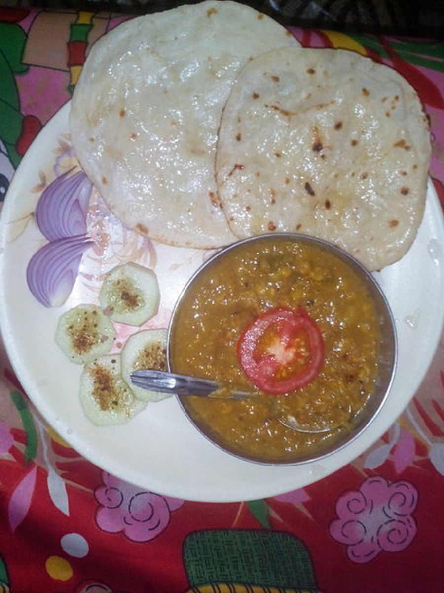 Served with rice, kulcha and salad
