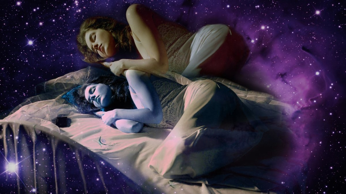 Astral Projection or Out of the Body experience,