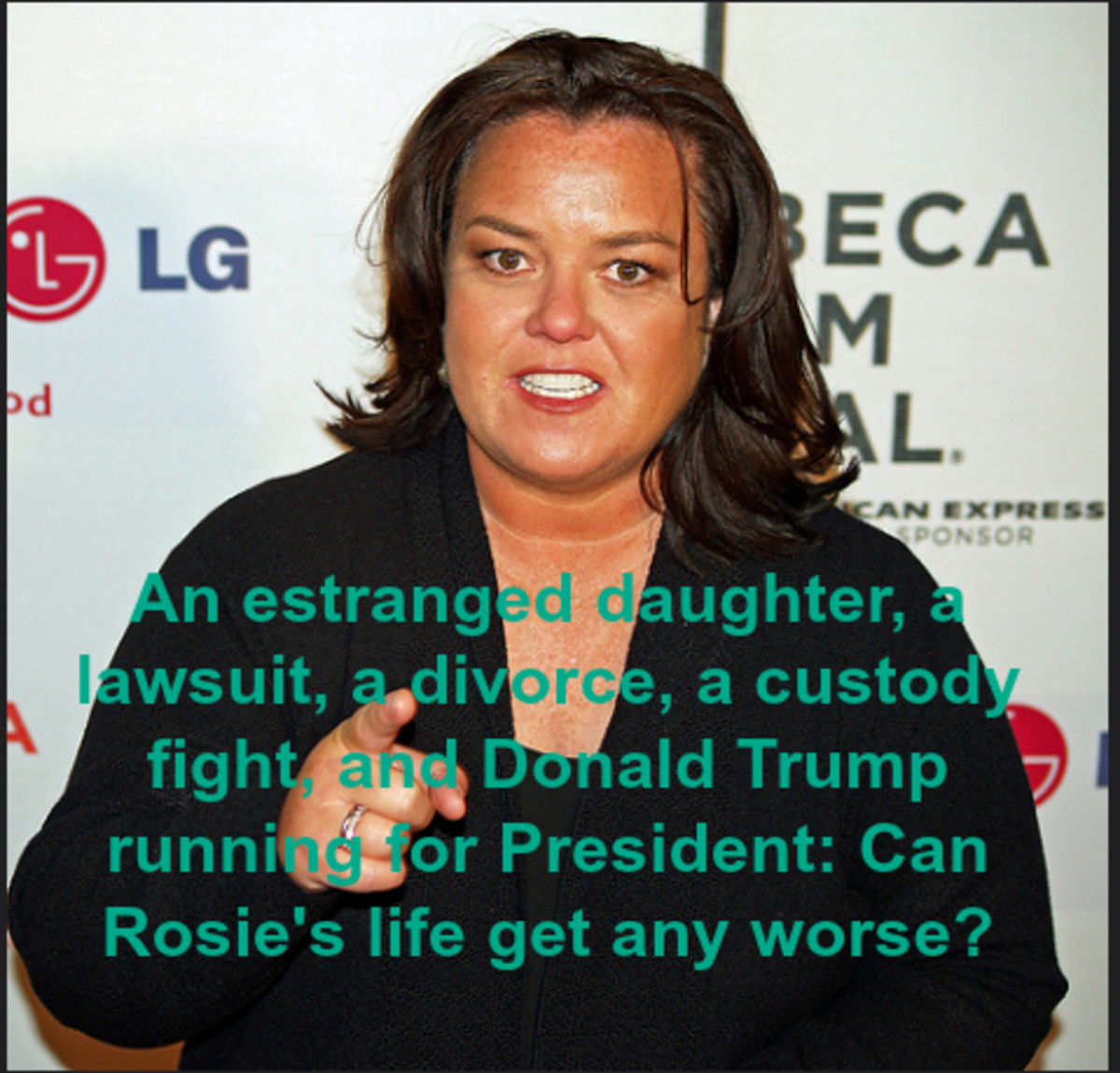 How Rosie O'Donnell Transformed From the Queen of Nice to the Monarch of Mean?