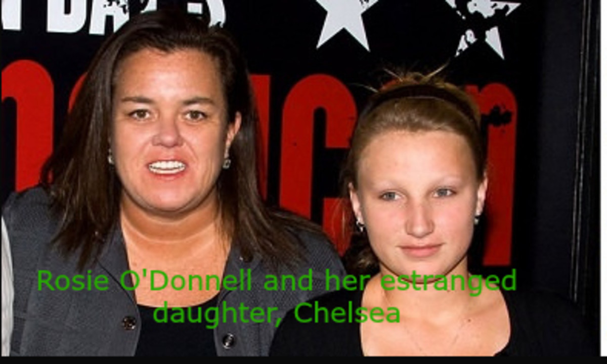 Chelsea O'Donnell has moved out of the family home and is living with her boyfriend.
