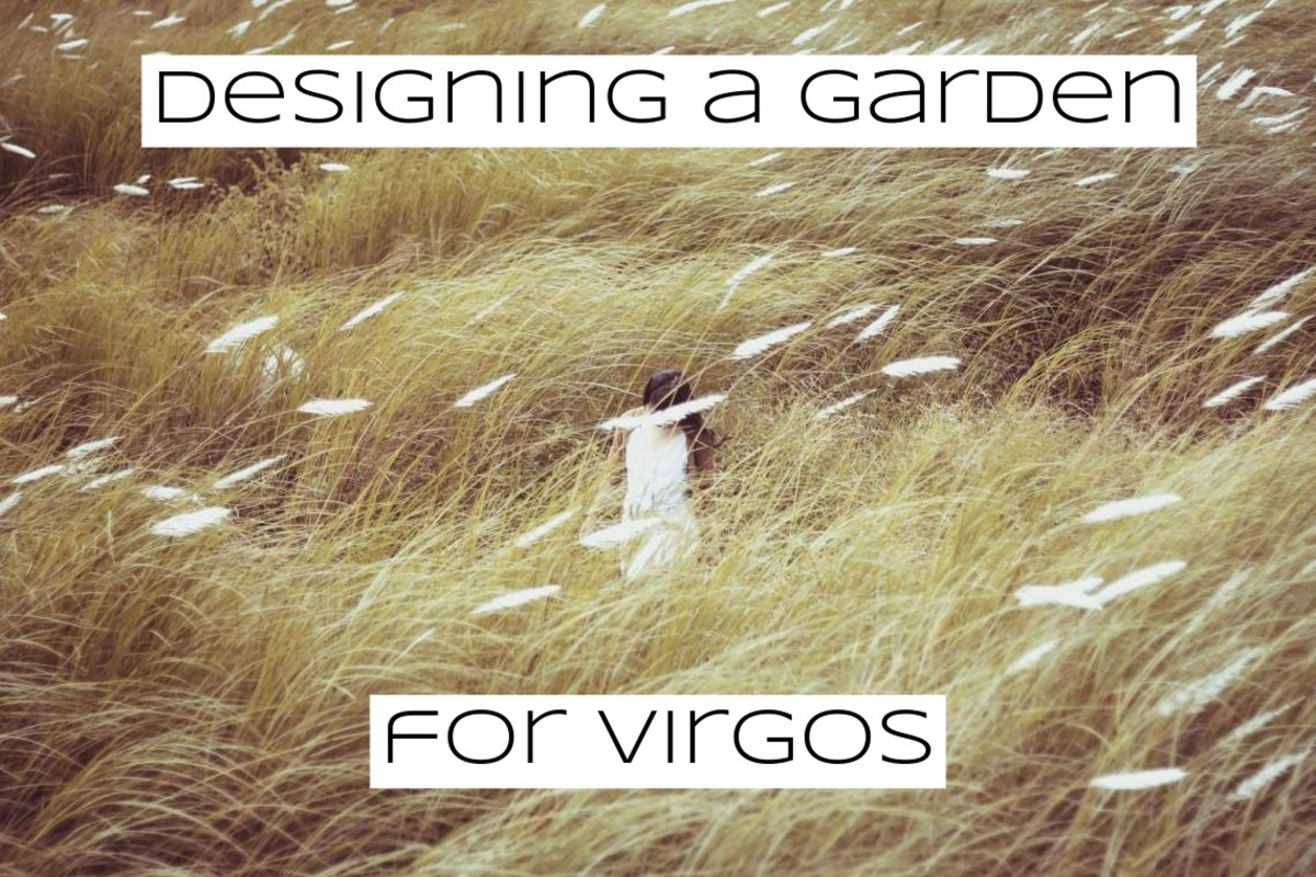 If you're designing a garden for a Virgo, look to mythology for inspiration. The constellation is connected to many myths, including the story of Persephone.