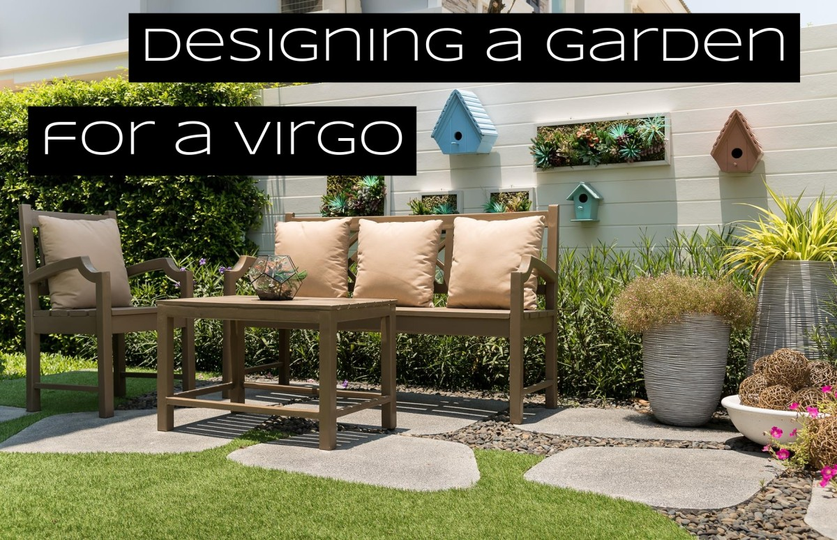 A Virgo garden should be simple, clean, and well suited for thinking. Virgo gardens are based off basic principles, muted colors, easy to maintain plants, and level spaces. Virgo isn't about tricky designs or big displays.