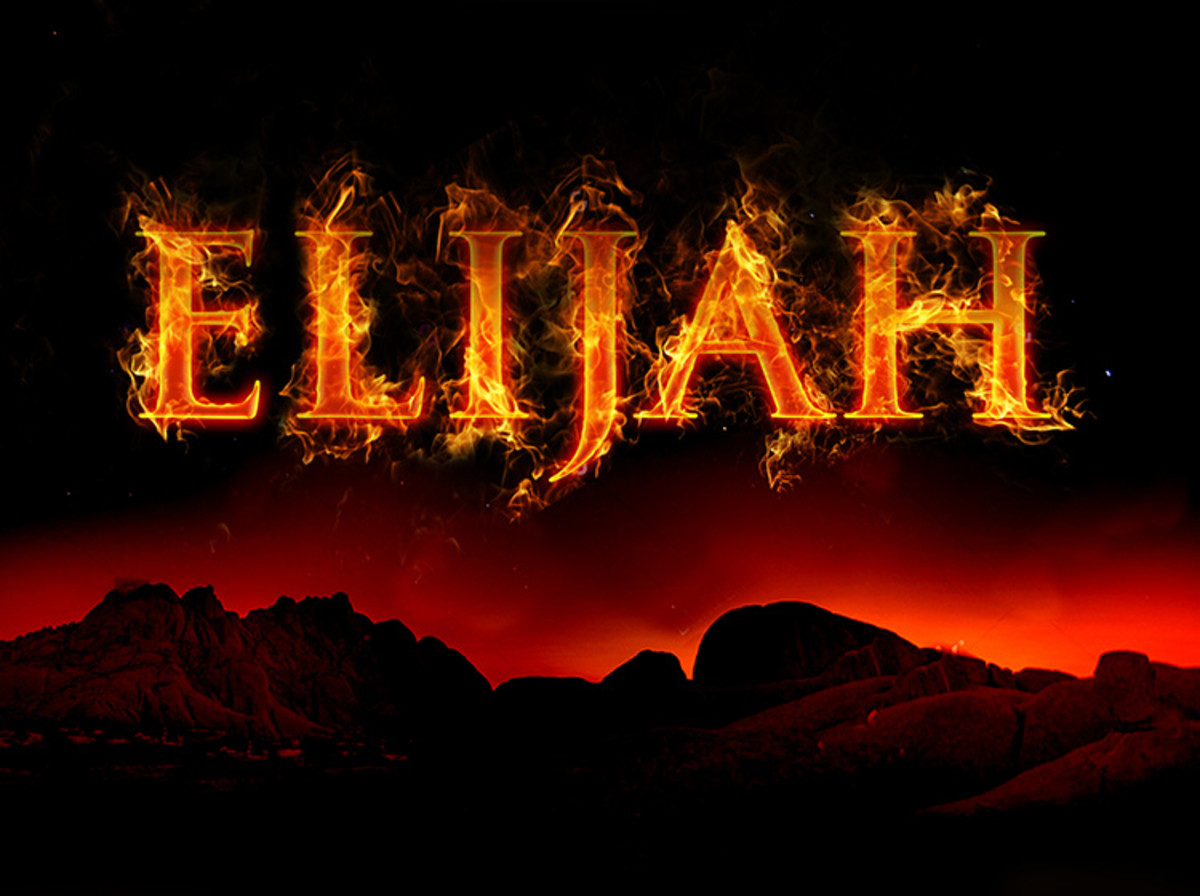 Elijah and Two Others Who Operated in Elijah's Spirit in the Bible