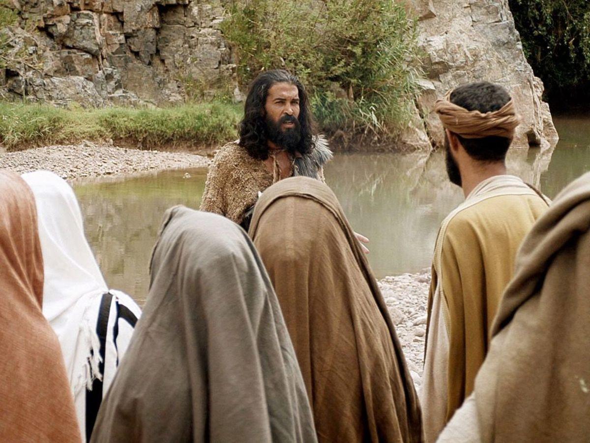 John the baptist and Jews