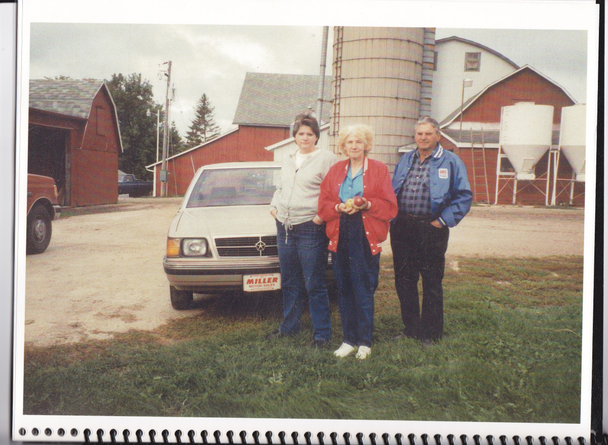 Taken on Patty and Donnie's Farm probably in 1994