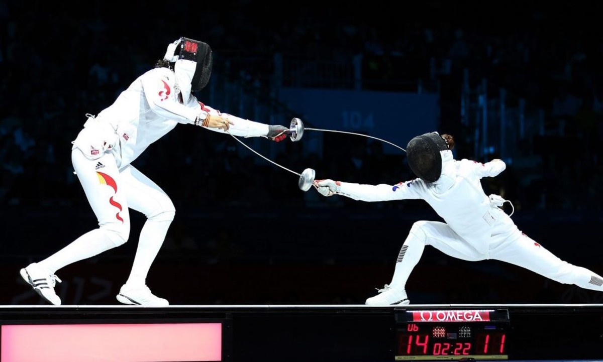 Innovations In The Sport of Fencing - EpeQR, EpeSock