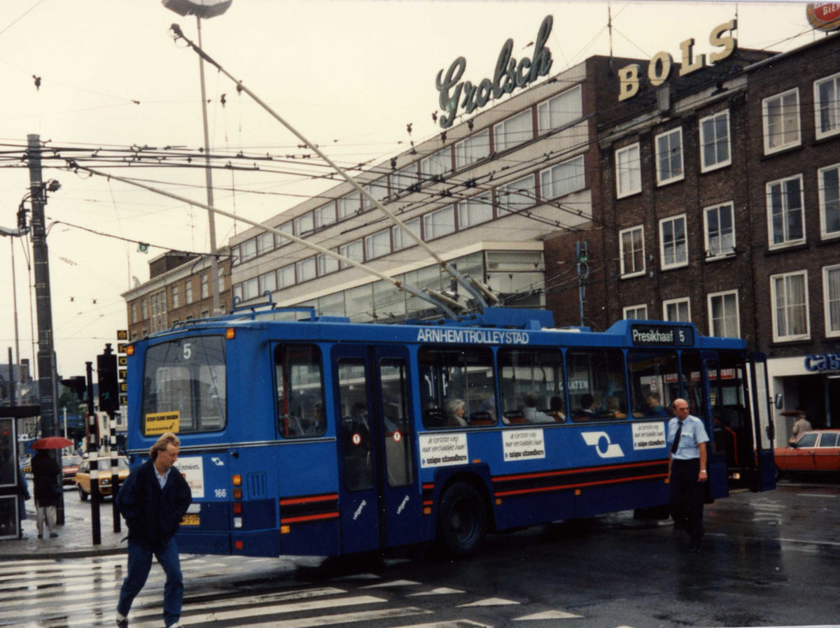Bus/Trolley System in Arnhem