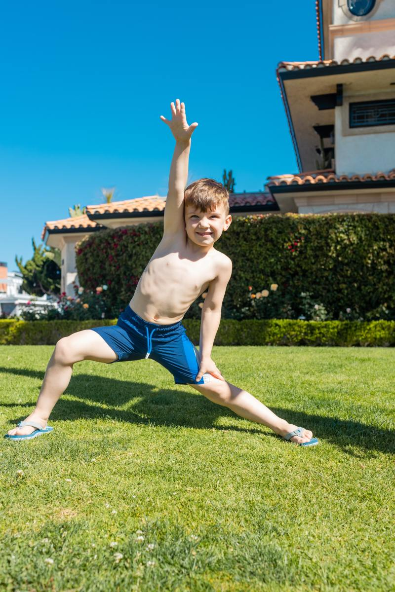 Yoga is beneficial for children. It increases immune system