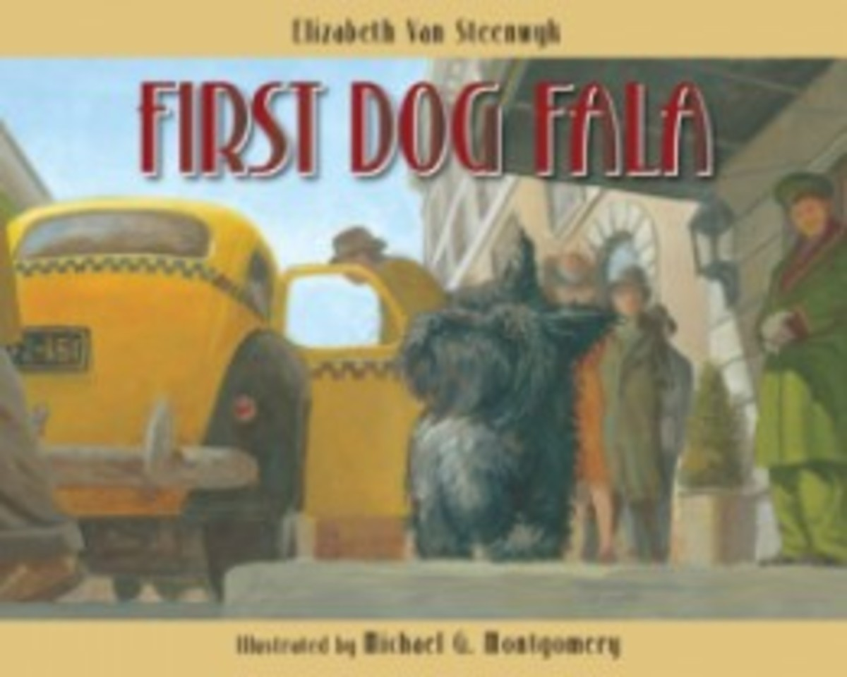First Dog Fala - by Elizabeth Van Steenwyk