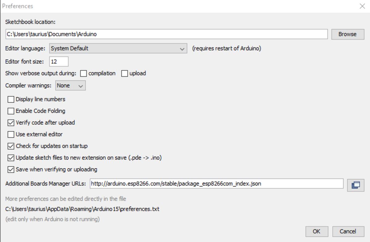 How to Setup Uno R3 Wifi Atmega328p Esp8266