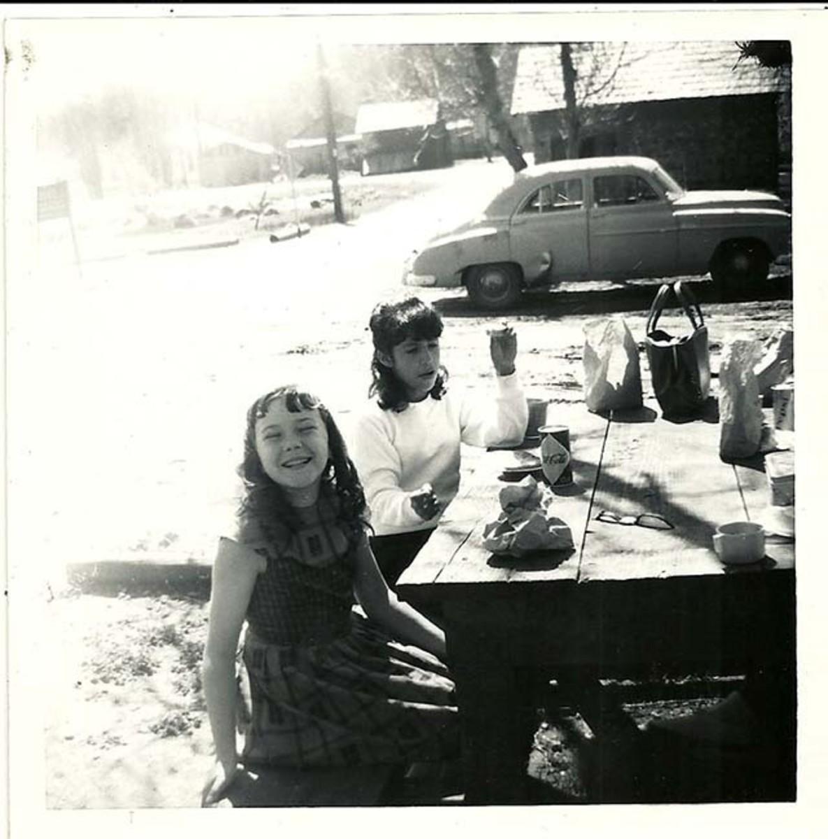 Me on a picnic.