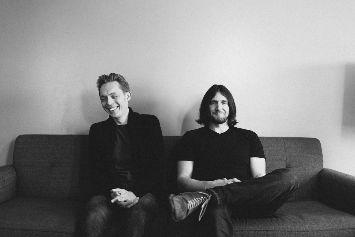 The Minimalists, Joshua Fields Millburn and Ryan Nicodemus.