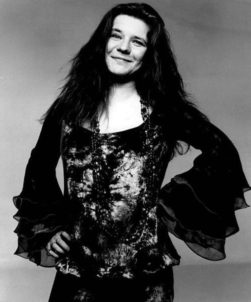 Janis Joplin Public Domain Publicity photo of Janis Joplin. |