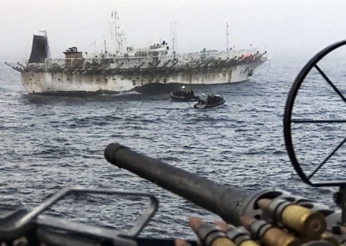 China's Fishing Fleet Arrives in Hawaiian Waters
