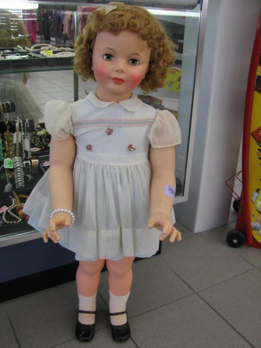 Large Vintage Doll