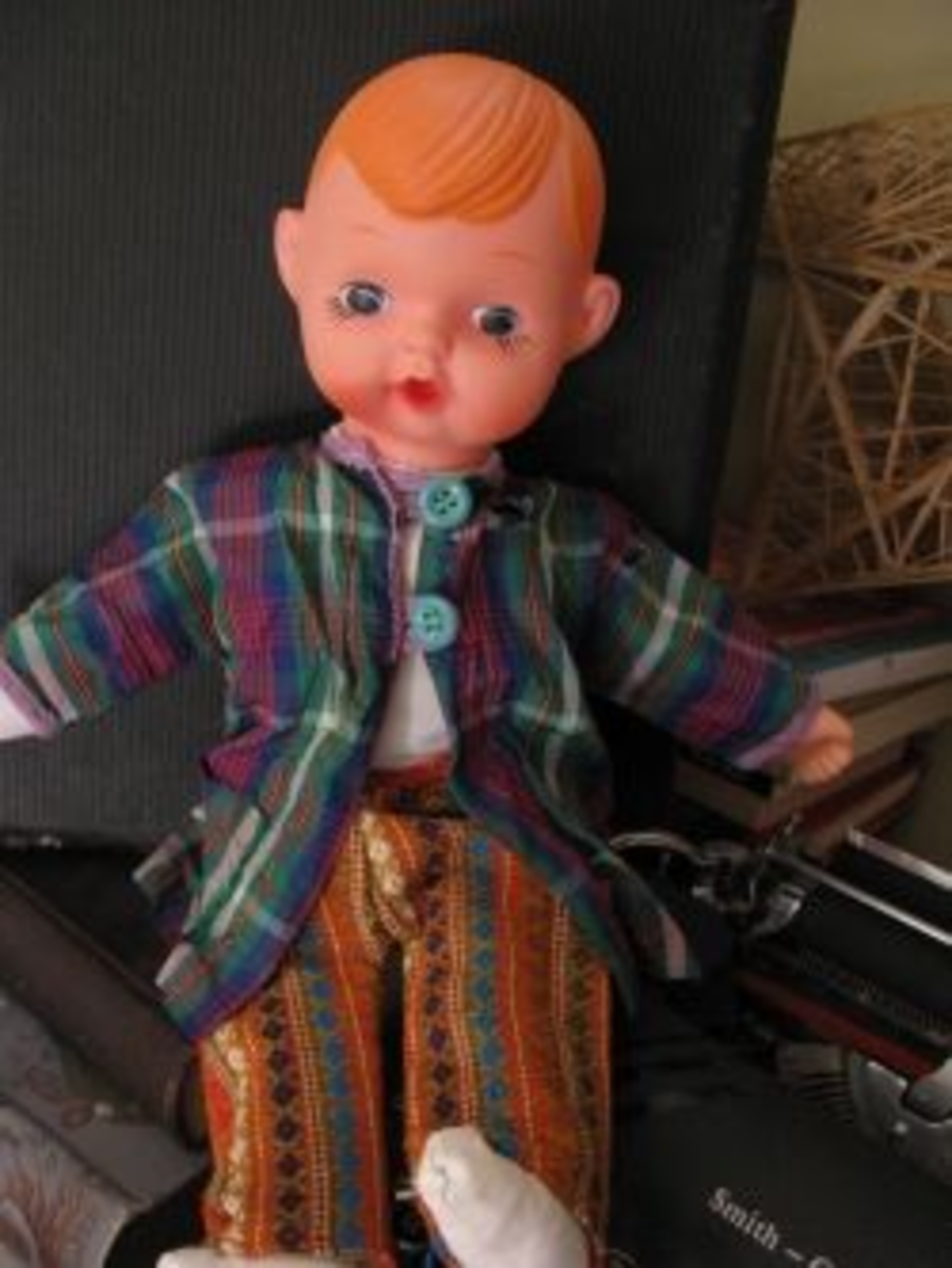 Vintage Plastic and Vinyl Doll
