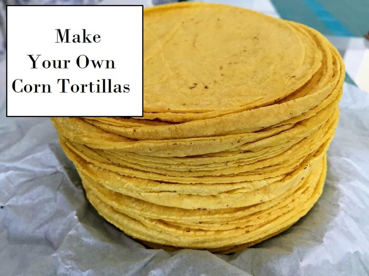 Homemade Corn Tortillas (Without a Tortilla Press)