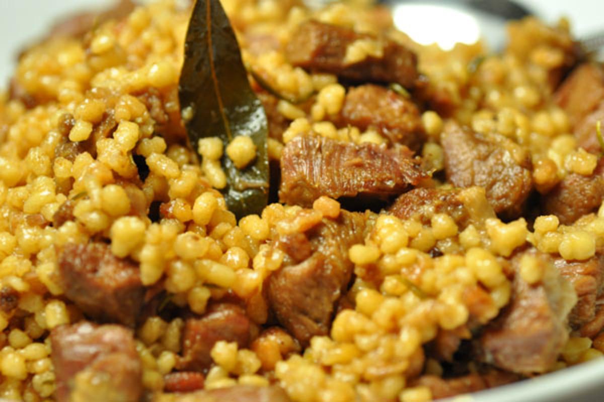 Close up - Sardinian Pilau Image:  Siu Ling Hui