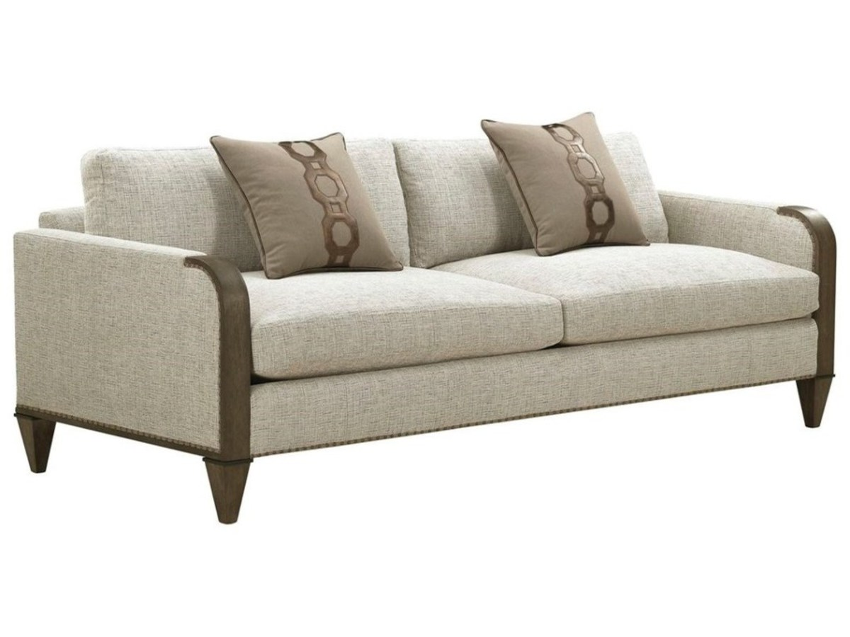 Once you've cleaned the upholstery you need to dust and clean the hard surface furniture trim.