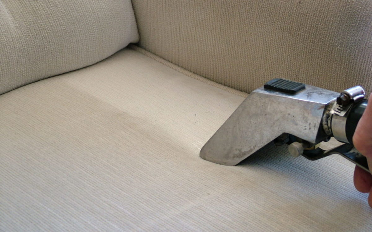 Professional upholstery cleaning services have several ways to clean depending on the fabric.