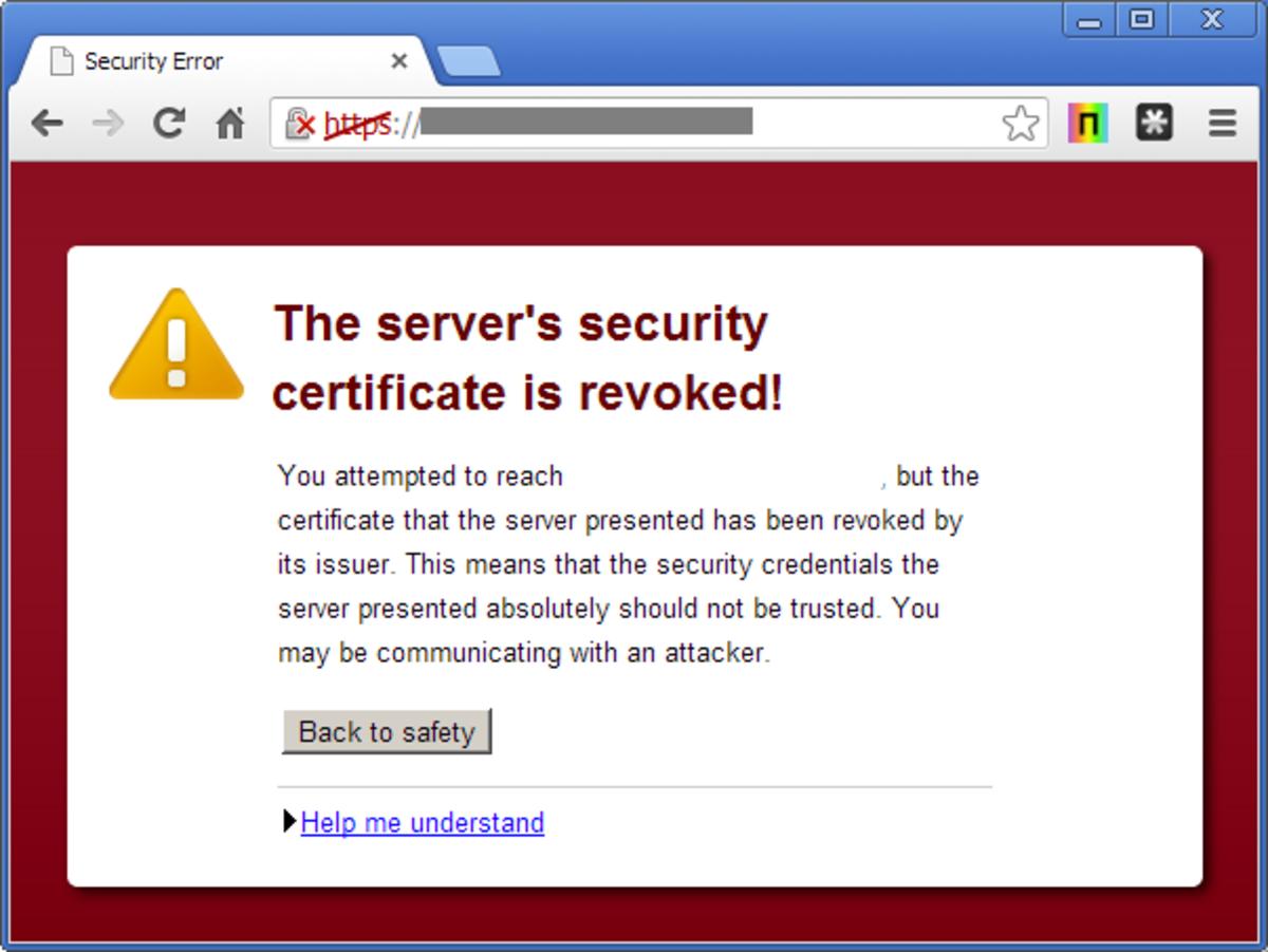 Fix Web Browser Error Message