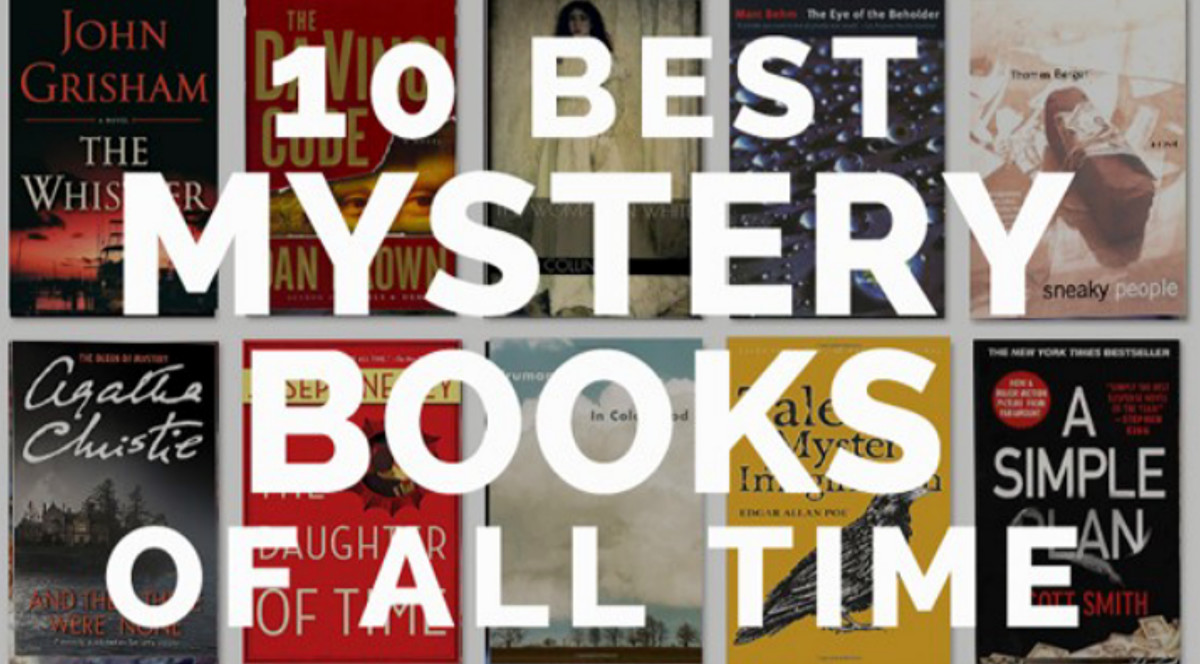 Top 10 Mystery Books of all time