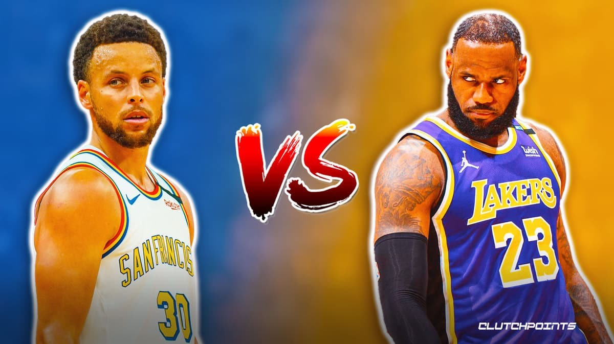 It will be the 7th seeded Lakers vs the 8th seeded Warriors in the play in tournament.