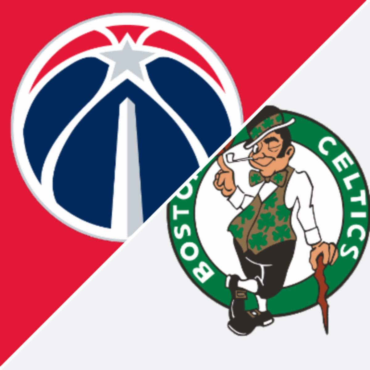 The 7th seeded Boston Celtics will play the 8th seeded Washington Wizards for the 7th seed. The loser will play the winner of the 9th and 10th seed battle to claim the 8th seed.