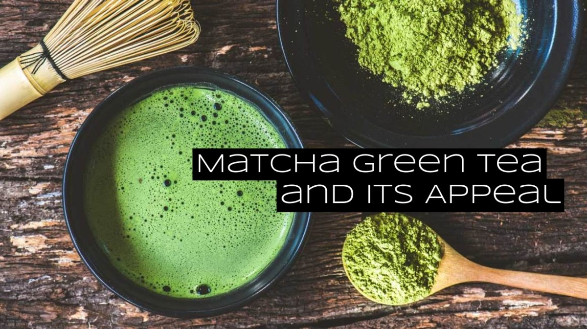 Matcha and sencha are two of the most popular green teas in Japan.