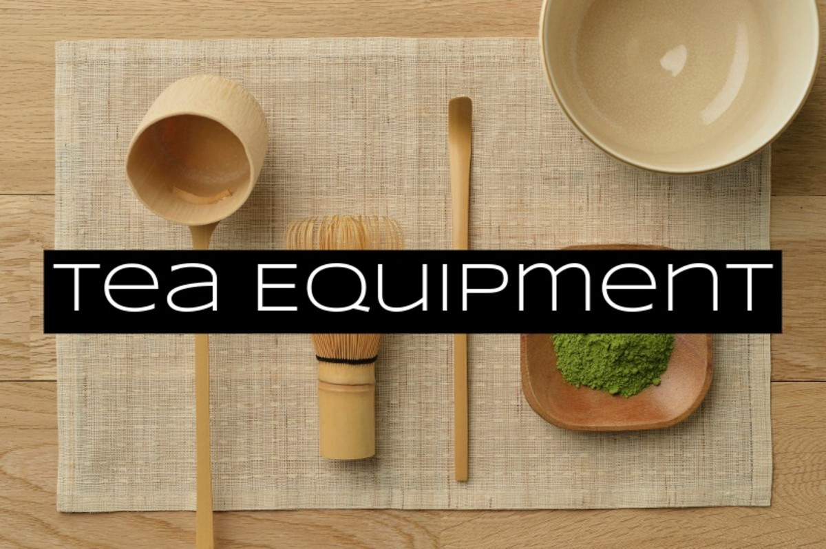 Many of the utensils used in Japanese tea ceremonies are made of bamboo.